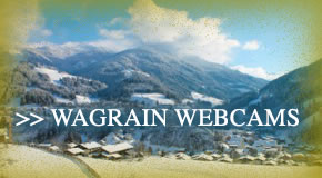 webcams in wagrain, austria